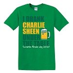 I Drank Charlie Sheen Under the Table - Parade Day 2020 Classic T-Shirt