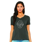 I Miss Dwight Women's V-Neck T-Shirt