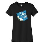 102.3 Rebel Radio Women's Crew Neck T-Shirt