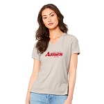 Ames Women's V-Neck T-Shirt