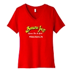 Banana Joe's Sports Bar & Grill Women's V-Neck T-Shirt