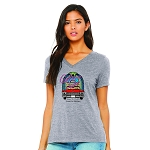 Cadillac Jack's Women's V-Neck T-Shirt
