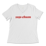 1050 CHUM Women's V-Neck T-Shirt