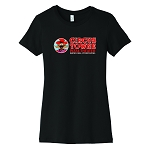 Circus Towne Pizza Theater Women's Crew Neck T-Shirt
