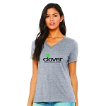 Clover Stores Women's V-Neck T-Shirt