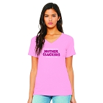 Mother Cluckers Women's V-Neck T-Shirt