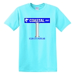 Coastal Highway Sign Classic T-Shirt