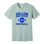 Dillon High School Football Super-Soft T-Shirt