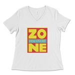 Discovery Zone Women's V-Neck T-Shirt
