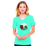 Endor Summer Camp Women's V-Neck T-Shirt