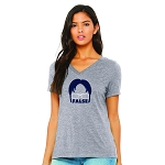 Dwight False Women's V-Neck T-Shirt