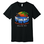 Fins Beach Bar Super-Soft T-Shirt