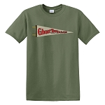 Ghost Town In The Glen Pennant Classic T-Shirt