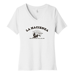 La Hacienda Women's V-Neck T-Shirt