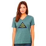 The Main Point Women's V-Neck T-Shirt
