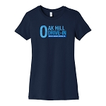 Oak Hill Drive-In Women's Crew Neck T-Shirt