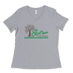 The Olive Tree Italian Restaurant Women's V-Neck T-Shirt