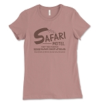 Safari Motel & Safari Shop Women's Crew Neck T-Shirt