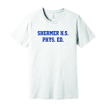 Shermer High School Phys Ed Super-Soft T-Shirt