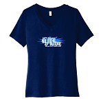 65th Street Slide & RIde Women's V-Neck T-Shirt