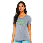 Snockey's Oyster House Women's V-Neck T-Shirt