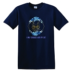 I Only Socialize With My Cat Classic T-Shirt