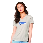 Strawbridge & Clothier Department Store Women's V-Neck T-Shirt
