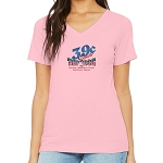 Top Dog 39 Cent Women's V-Neck T-Shirt
