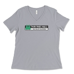 Twin Pines Mall Women's V-Neck T-Shirt