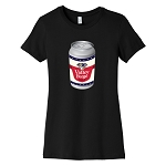 Valley Forge Beer Can Women's Crew Neck T-Shirt