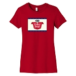 Valley Forge Beer Women's Crew Neck T-Shirt