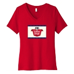 Valley Forge Beer Women's V-Neck T-Shirt