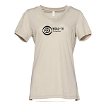 WDAU TV Women's V-Neck T-Shirt