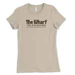 The Wharf Restaurant Women's Crew Neck T-Shirt