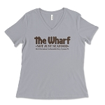 The Wharf Restaurant Women's V-Neck T-Shirt