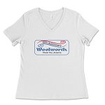 Woolworth's 100th Anniversary Women's V-Neck T-Shirt