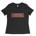 F.W. Woolworth Co. Women's V-Neck T-Shirt