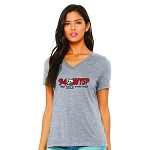 94 WYSP Women's V-Neck T-Shirt