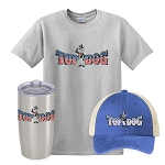 Top Dog Insulated Tumbler, Snapback Trucker Hat & Classic T-Shirt Combo