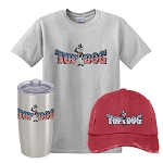 Top Dog Insulated Tumbler, Distressed Cap & Classic T-Shirt Combo