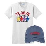 Tubby's Carry Out & Delivery Distressed Cap & Classic T-Shirt Combo