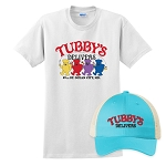 Tubby's Carry Out & Delivery Snapback Trucker Hat & Classic T-Shirt Combo