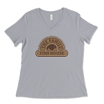 The Family Fish House Women's V-Neck T-Shirt