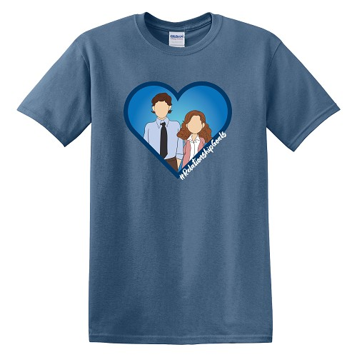 Jim & Pam Relationship Goals Classic T-Shirt