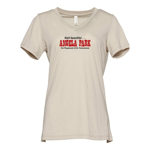 Angela Park Women's V-Neck T-Shirt