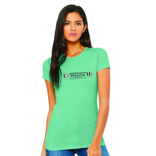 Chester County Book & Music Company Women's Crew Neck T-Shirt