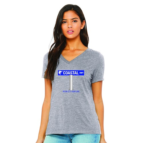 Coastal Highway Women's V-Neck T-Shirt