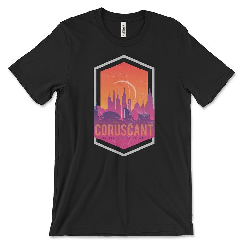 Coruscant Super-Soft T-Shirt