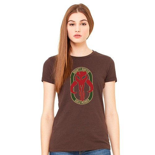 Bounty Hunter Guild Member Women's Crew Neck T-Shirt