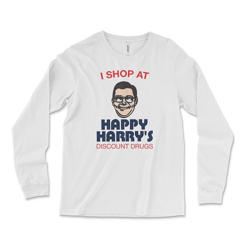 Happy Harry's Discount Drugs Long Sleeve T-Shirt